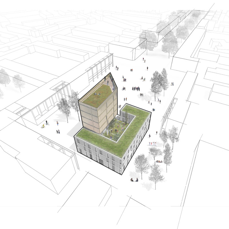 Woensel West - Waaggebouw Celsiusplein